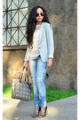 Heather-gray-blazer-zara-blazer-blue-skinny-jeans-pull-bear-jeans