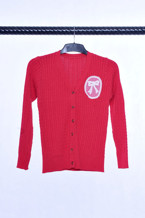 preppy look cardigan