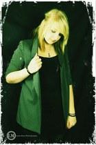 heather gray Urban Outfitters blazer - black Target shirt - black Target skirt -