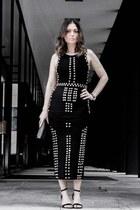 studded ShopGlamorous dress - Steve Madden heels