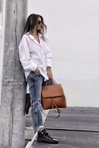 Nordstrom jeans - crossbody Hieleven bag - Geox sneakers