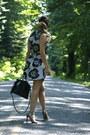 Floral-print-topshop-dress-sandals-topshop-heels