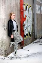 H&M Trend jacket - Topshop boots - PROENZA SCHOULER bag - Zara pants