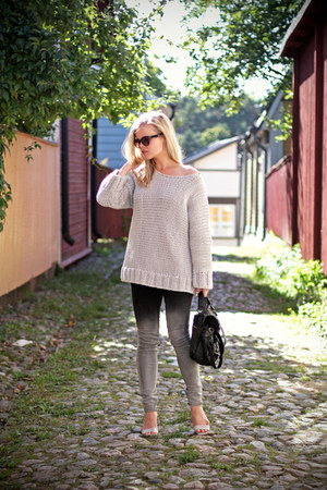 ombre weekday jeans - knitted weekday sweater