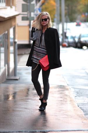 Zara bag - Cheap Monday jeans - Cheap Monday sunglasses - H&M blouse