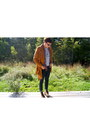 Navy-bullhead-jeans-brown-old-navy-jacket-crimson-jcrew-shirt