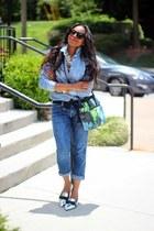 Reed Krakoff bag - Celine sunglasses