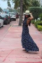 dvf dress - Reed Krakoff bag - Dolce & Gabbana sunglasses - Gucci sandals