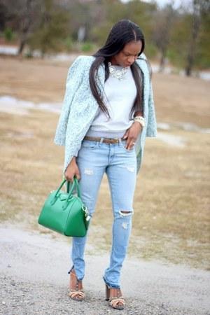 J Crew coat - rag & bone jeans