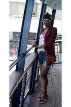 Chole bag - True Religion shorts - Tom Ford sunglasses