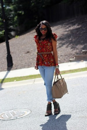Alexander Wang shoes - Joes Jeans jeans - Prada sunglasses