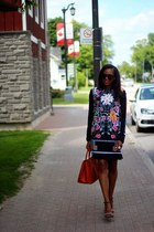 alexis bittar ring - Clover Canyon dress - Prada bag - Celine sunglasses