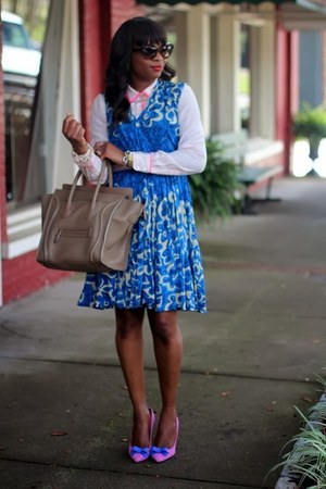 Tracey Reese dress - prad sunglasses - J Crew pumps