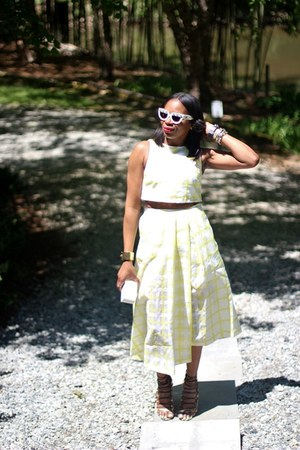 michele watch - Prada sunglasses - asos top