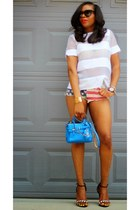 timex watch - Reed Krakoff bag - Celine sunglasses
