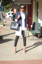 Reed Krakoff bag - Celine sunglasses - JCrew pants