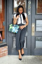 H&M blazer - coach pumps