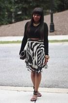 Cavalli skirt - majestict top