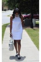 Zara dress - Prada sunglasses