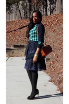 J Crew sweater - Marni bag - Christian Louboutin pumps
