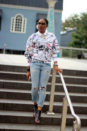 PROENZA SCHOULER boots - rag & bone jeans - Gucci sunglasses