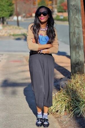 sturart weitzman shoes - JCrew sweater - Celine sunglasses