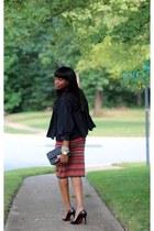 Missoni dress - Chanel bag - Christian Louboutin pumps