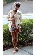 Mess jacket - Lucky Brand shoes - Chole bag