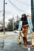 Reed Krakoff bag - Celine sunglasses - manolo blahink pumps