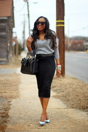 Gap sweater - Reed Krakoff bag - Laydee Boutique skirt
