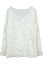 Architectual Love All Lace Top