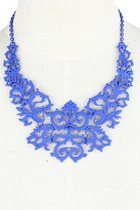 Patterns of Your Style Necklace (Blue)