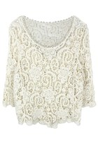Foral Waves Crochet Top
