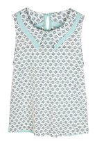 MY ADORABLE PRINCESS PETER PAN COLLAR LACE TOP (MINT/CREAM/ PINK)
