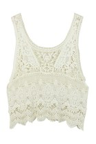 Layers of Delight Lacey Crochet Top
