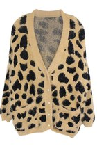 LEOPARD OBSESSION FLUFFY SWEATER