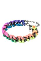 Neon Punch in Rainbow Bracelet