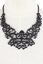 Patterns of Your Style Necklace (Black)