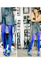 aa stockings - Frever 21 shoes - Michael Stars dress