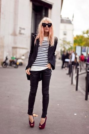 glasses - shirt - pants - shoes