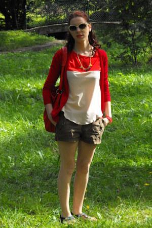 OASAP blouse - Dressve bag - tbdress earrings - Rosegal watch