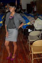 H&M skirt - H&M blazer
