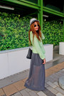 Zara-blazer-hat-boyy-bag-himma-top-rayban-glasses-zara-skirt