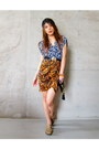 Wrapdress-topshop-dress-zara-skirt-gold-buckle-primark-belt