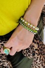 Leopard-zara-jacket-h-m-hat-karen-walker-sunglasses-neon-yellow-zara-top