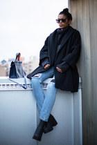 sky blue Monki jeans