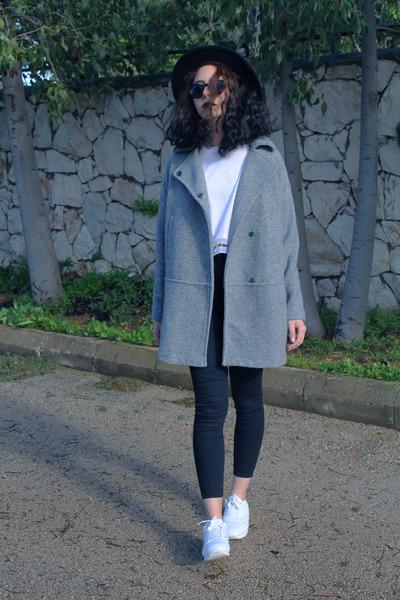 silver Mango coat