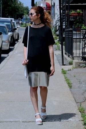 Topshop skirt - brandy melville t-shirt