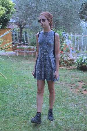 heather gray H&M dress