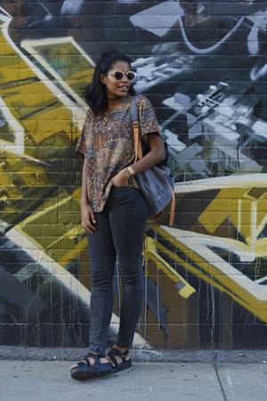 light brown Citizen Vintage blouse